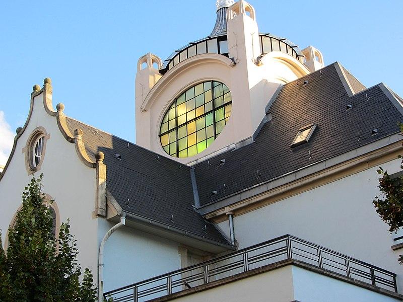 Photo du Monument Historique Villa dite Stempel situé à Strasbourg