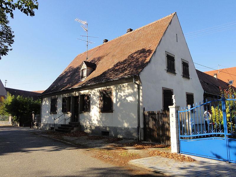 Photo du Monument Historique Cité Paysanne : fermes et maisons situé à Marckolsheim