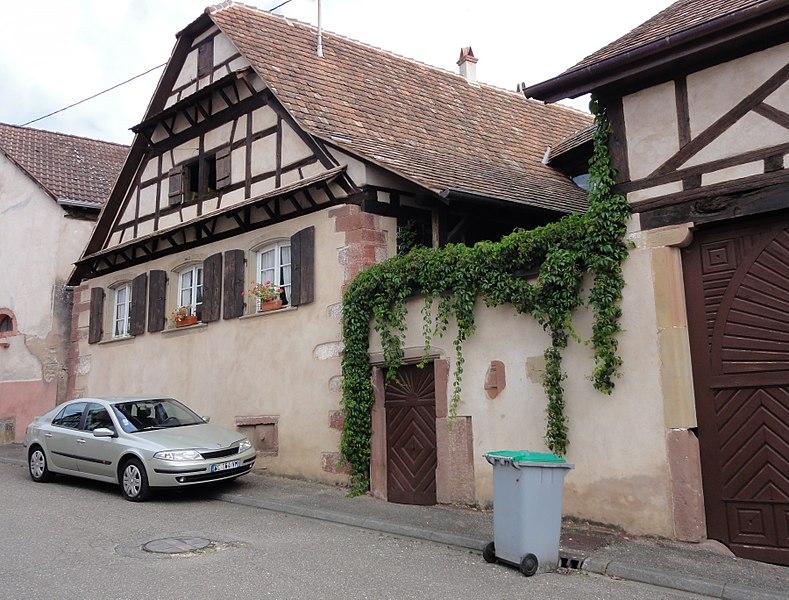 Photo du Monument Historique Ferme situé à Nordheim