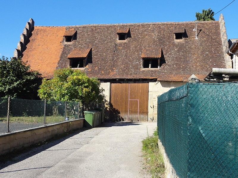 Photo du Monument Historique Grange aux dîmes situé à Rosheim
