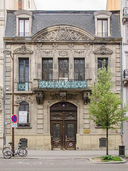 Photo du Monument Historique Hôtel Magnus situé à Strasbourg