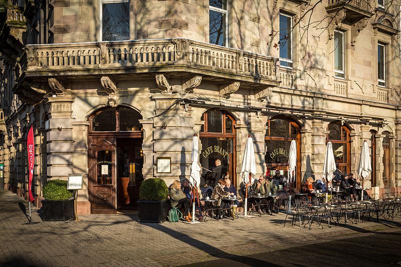 Photo du Monument Historique Café Brant situé à Strasbourg