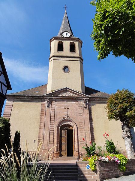 Photo du Monument Historique Eglise Notre-Dame de l'Assomption situé à Villé