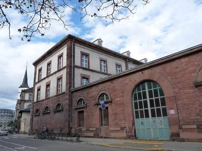 Photo du Monument Historique Ancienne manufacture des tabacs situé à Strasbourg