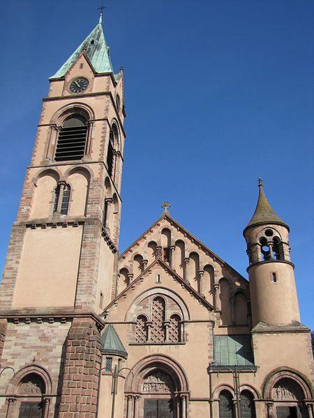 Photo du Monument Historique Ensemble paroissial Saint-Joseph de Koenigshoffen situé à Strasbourg