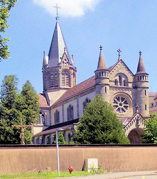 Photo du Monument Historique Eglise Saint-Morand situé à Altkirch