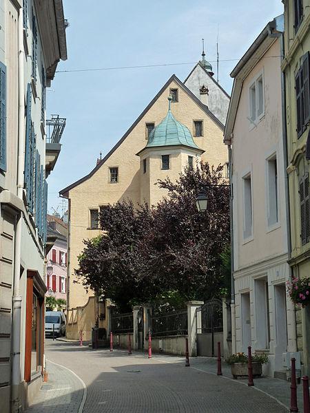 Photo du Monument Historique Ancienne maison du Bailli situé à Altkirch