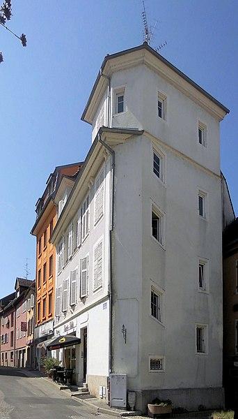 Photo du Monument Historique Maison situé à Altkirch