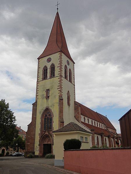 Photo du Monument Historique Eglise catholique Saint-Martin situé à Ammerschwihr