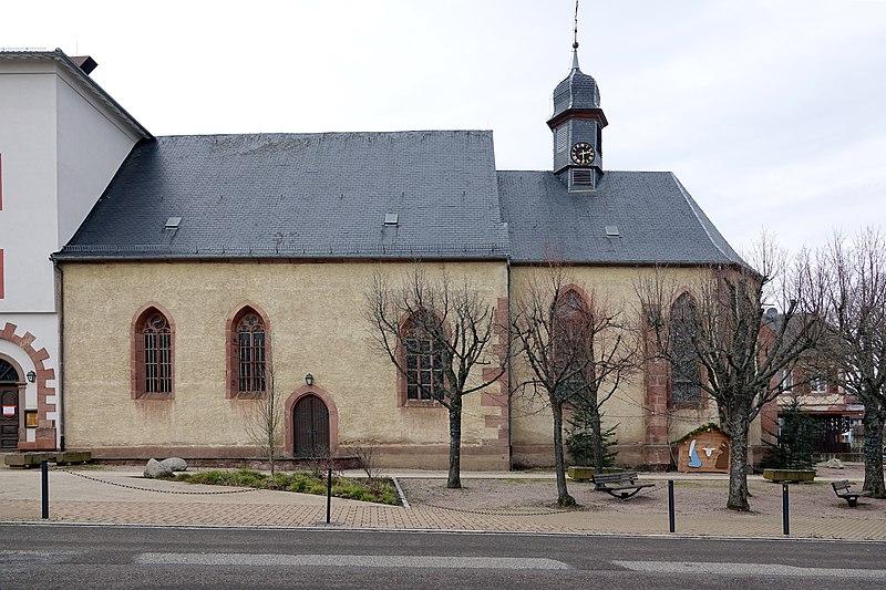 Photo du Monument Historique Eglise de pèlerinage de la Visitation de la Bienheureuse Vierge Marie, dite Chapelle Notre-Dame-des-Trois-Epis situé à Ammerschwihr