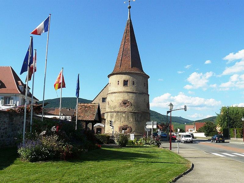 Photo du Monument Historique Tour des Voleurs situé à Ammerschwihr