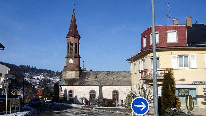 Photo du Monument Historique Eglise catholique Saint-Jacques-le-Majeur situé à Aubure