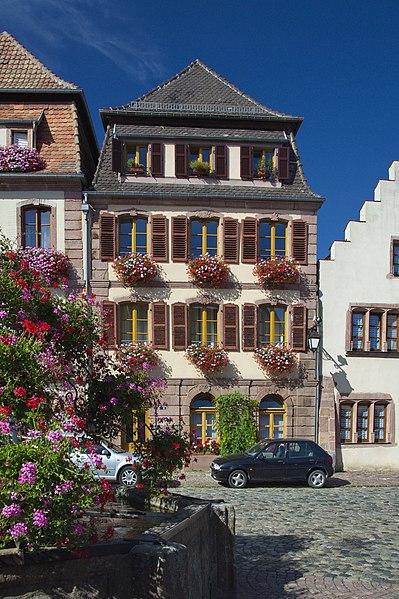 Photo du Monument Historique Immeuble situé à Bergheim