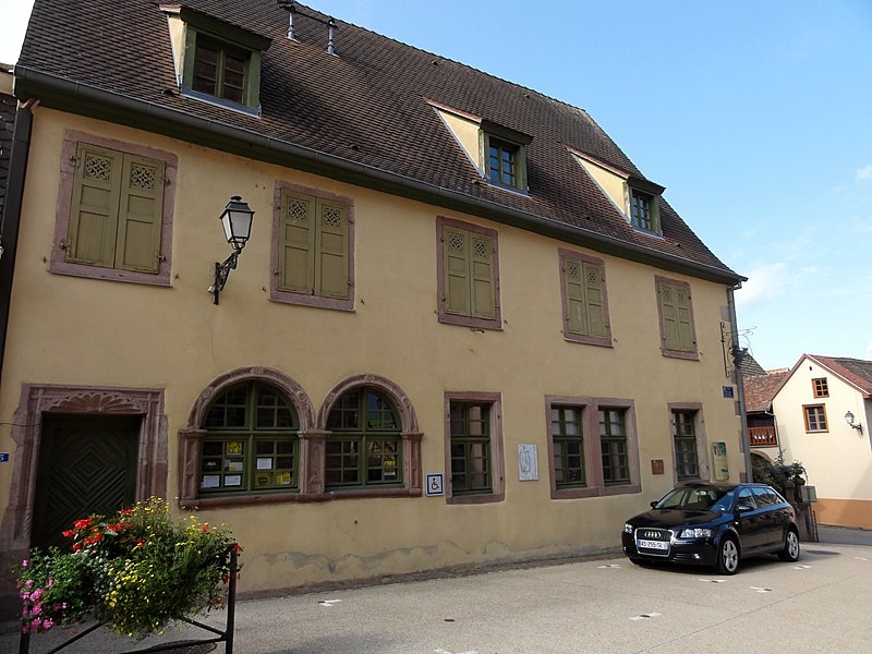 Photo du Monument Historique Ancienne maison d'école situé à Bergheim
