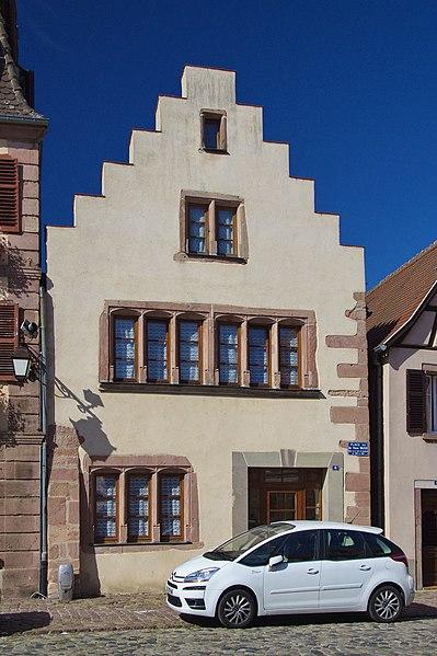 Photo du Monument Historique Maison situé à Bergheim