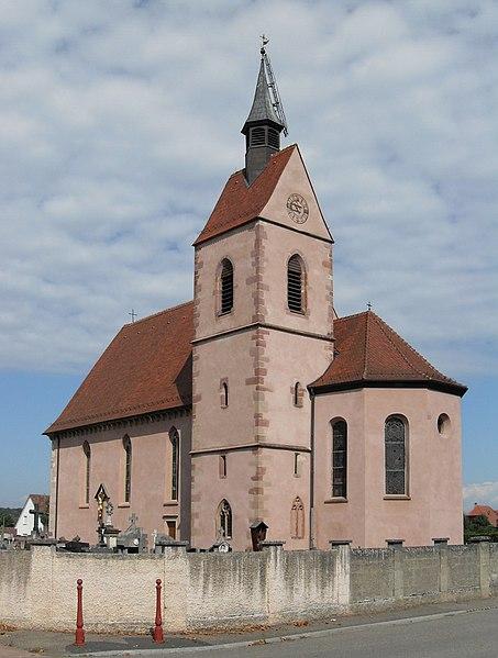 Photo du Monument Historique Chapelle Notre-Dame-du-Chêne situé à Blotzheim