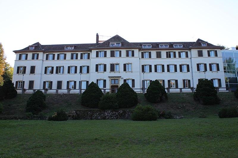 Photo du Monument Historique Ancien couvent de Luppach situé à Bouxwiller