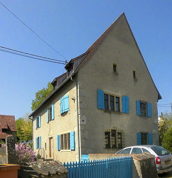 Photo du Monument Historique Maison situé à Bruebach