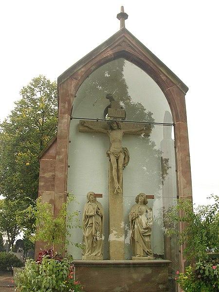 Photo du Monument Historique Cimetière situé à Colmar