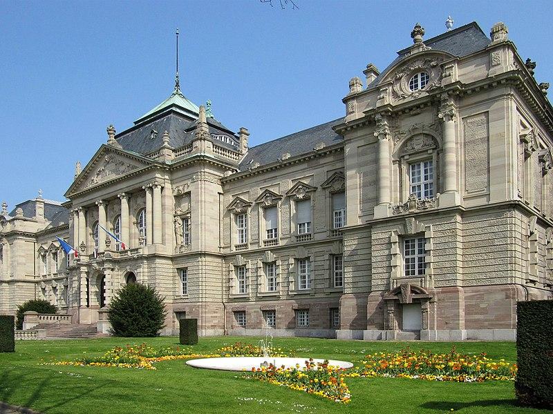 Photo du Monument Historique Cour d'Appel situé à Colmar