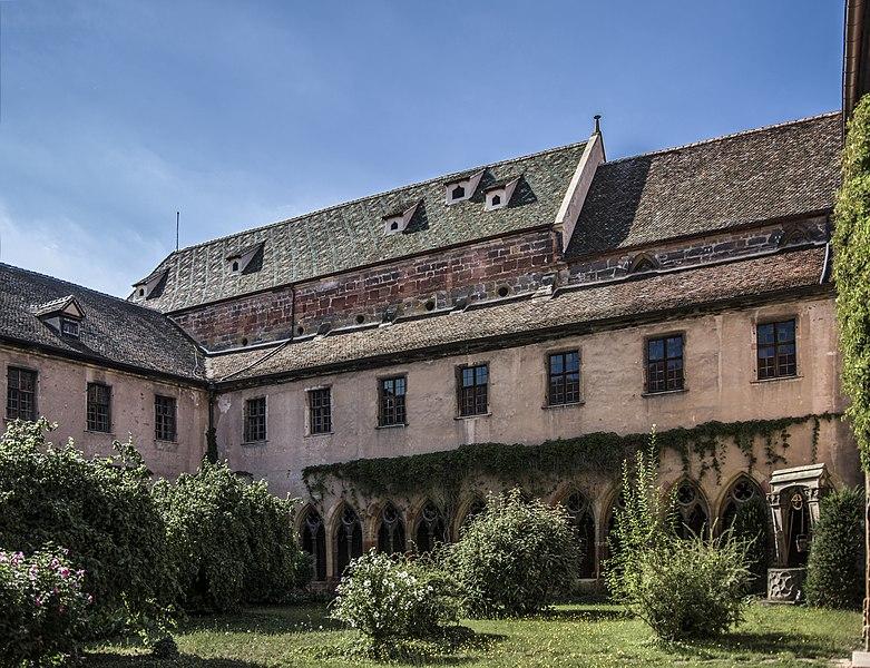 Photo du Monument Historique Ancien couvent des Unterlinden situé à Colmar