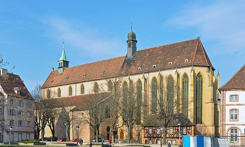 Photo du Monument Historique Eglise protestante Saint-Matthieu, ancienne église des Franciscains situé à Colmar