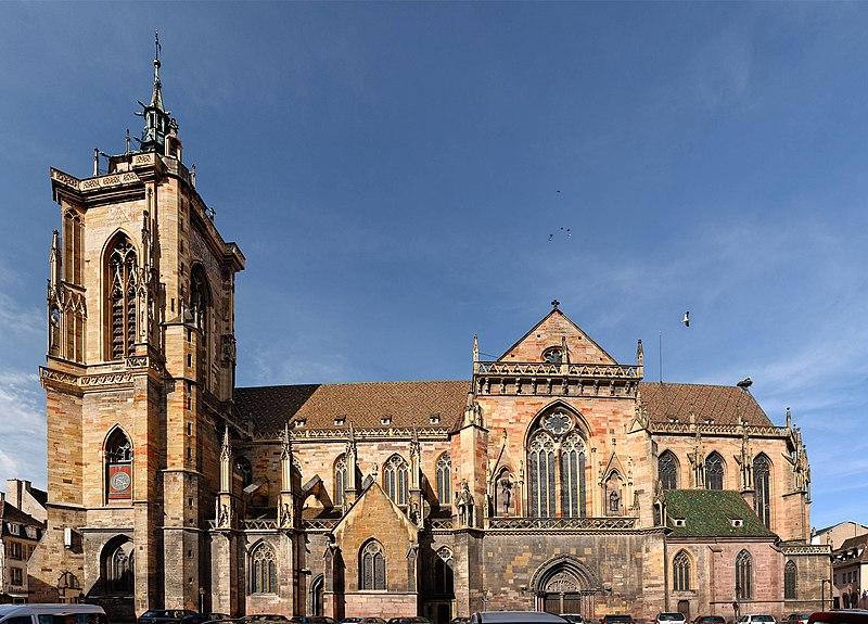 Photo du Monument Historique Ancienne collégiale Saint-Martin situé à Colmar
