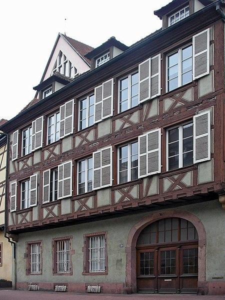 Photo du Monument Historique Ancien hôtel de Reiset situé à Colmar