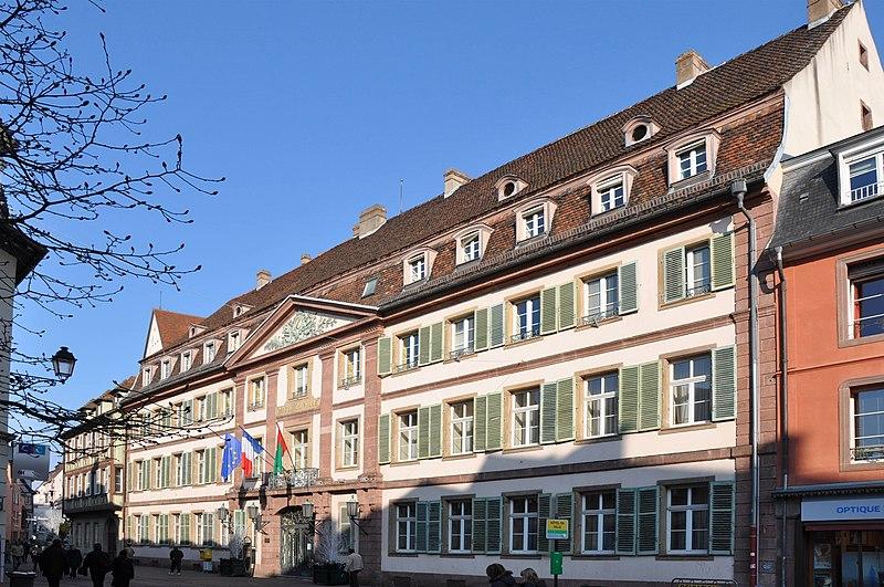 Photo du Monument Historique Hôtel de ville situé à Colmar