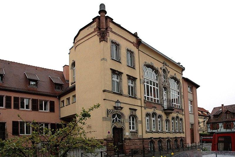 Photo du Monument Historique Immeuble, actuellement service de l'enfance inadaptée situé à Colmar