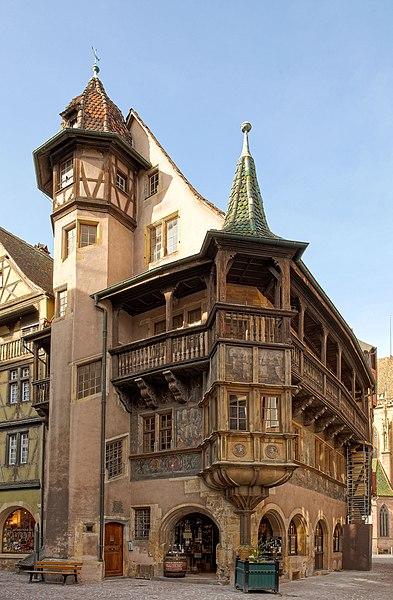 Photo du Monument Historique Maison Pfister situé à Colmar