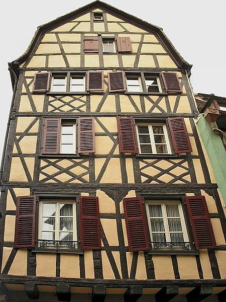 Photo du Monument Historique Maison dite Maison Schongauer situé à Colmar