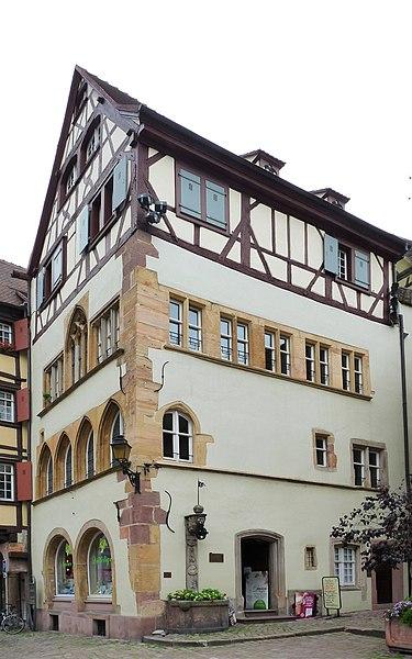 Photo du Monument Historique Maison Adolphe situé à Colmar