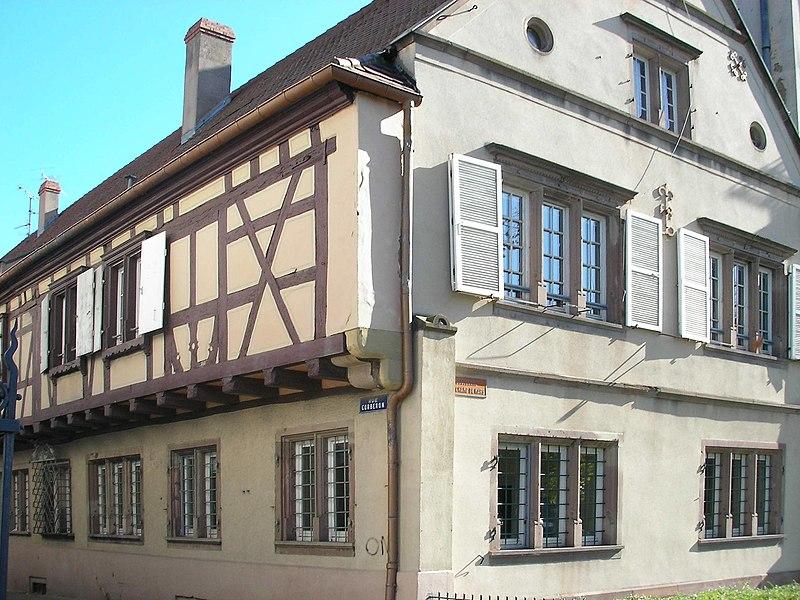 Photo du Monument Historique Maison Fleischhauer situé à Colmar