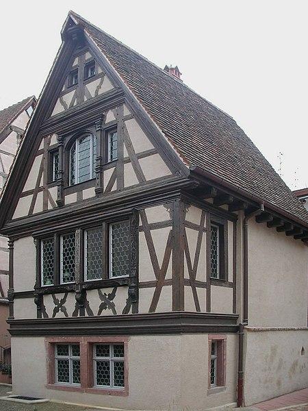 Photo du Monument Historique Maisonnette Bohn situé à Colmar