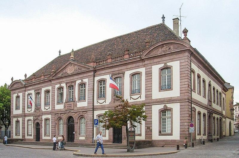 Photo du Monument Historique Ancien palais du Conseil Souverain d'Alsace, actuel Tribunal de Grande Instance situé à Colmar