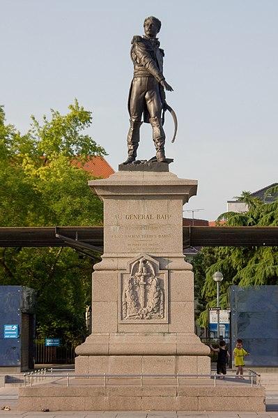 Photo du Monument Historique Statue du Général Rapp situé à Colmar