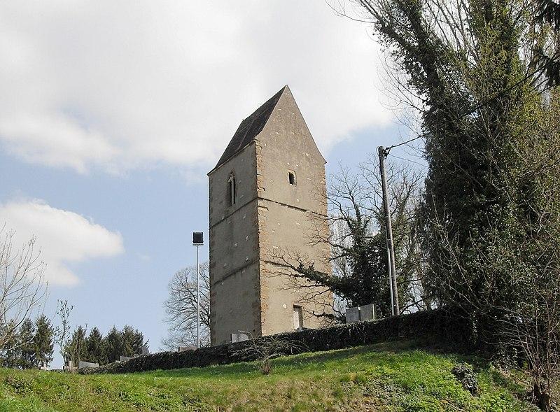 Photo du Monument Historique Ancienne église situé à Dietwiller