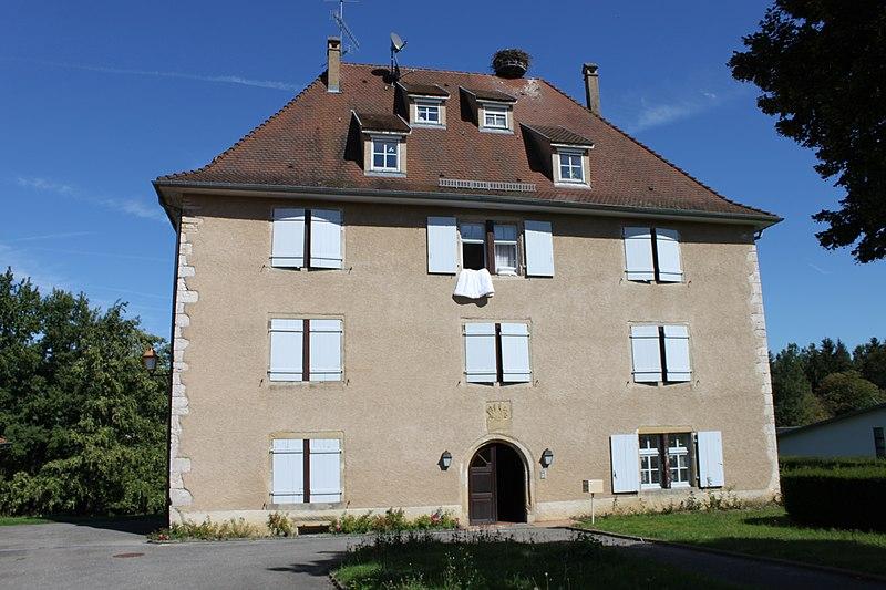 Photo du Monument Historique Ancien manoir de Flaxlanden situé à Durmenach