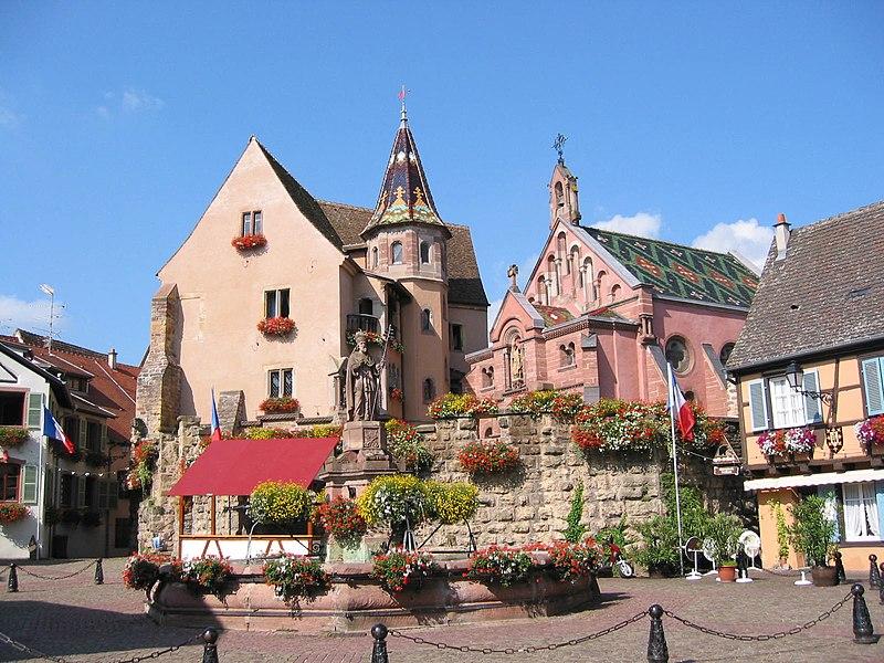 Photo du Monument Historique Ancien château impérial dit de Saint-Léon-Pfalz, ancien château des évêques de Strasbourg situé à Eguisheim
