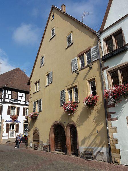 Photo du Monument Historique Maison situé à Eguisheim