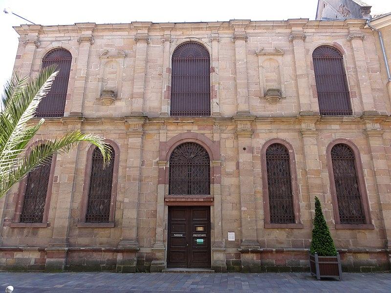 Photo du Monument Historique Ancien collège des Jésuites, puis établissement pénitentiaire situé à Ensisheim