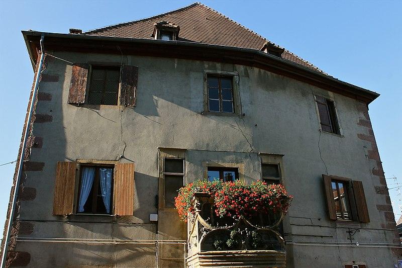 Photo du Monument Historique Maison situé à Ensisheim