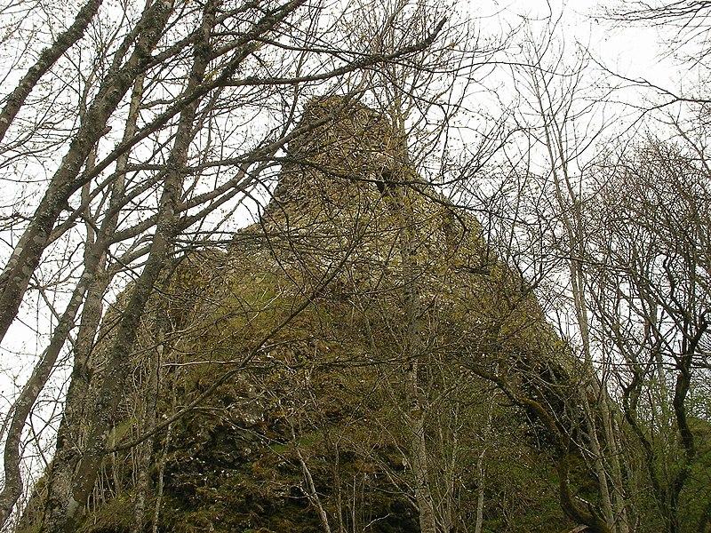 Photo du Monument Historique Ruines du château de Freundstein situé à Goldbach-Altenbach