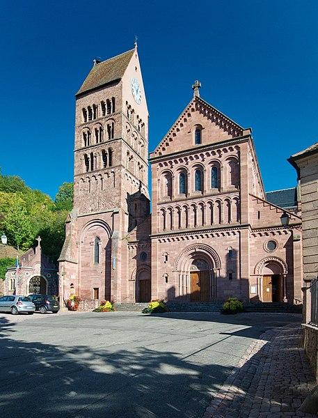 Photo du Monument Historique Eglise catholique Saint-Pantaléon situé à Gueberschwihr