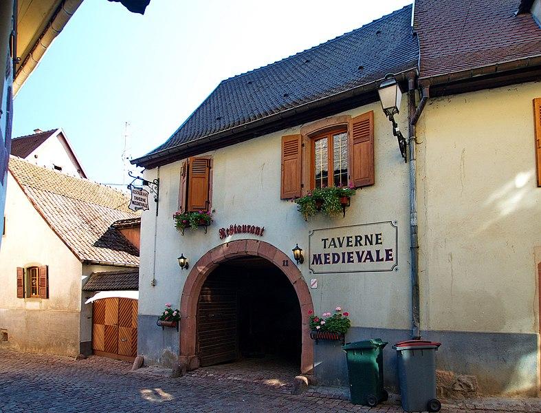 Photo du Monument Historique Maison situé à Gueberschwihr