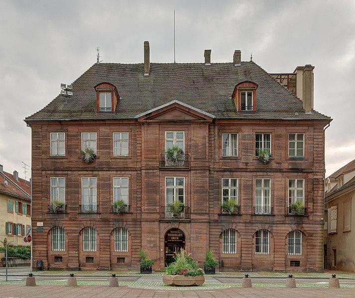 Photo du Monument Historique Ancien hôtel du Grand-Doyenné situé à Guebwiller