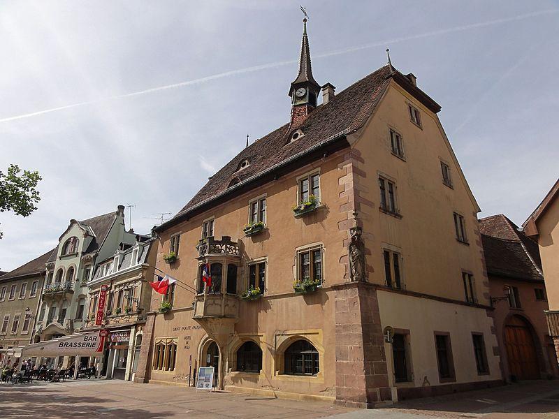 Photo du Monument Historique Hôtel de ville situé à Guebwiller