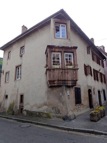 Photo du Monument Historique Maison situé à Guebwiller