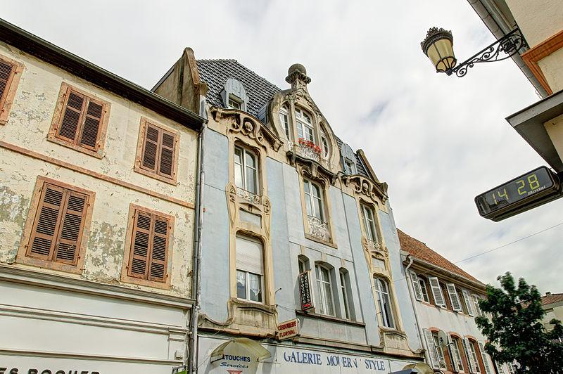 Photo du Monument Historique Immeuble situé à Guebwiller
